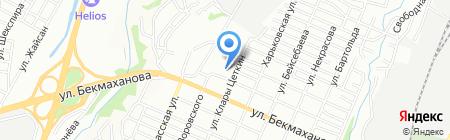 Общеобразовательная школа №85 на карте Алматы