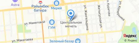 Распродажа на карте Алматы