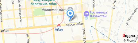 9ММ на карте Алматы
