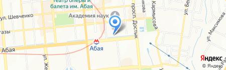 Beno на карте Алматы