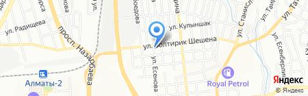Айко-Дез на карте Алматы