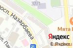 Схема проезда до компании Акыл Тiс в Алматы