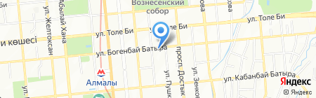 IVORY на карте Алматы
