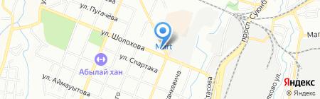 Экологическая инспекция Турксибского района на карте Алматы