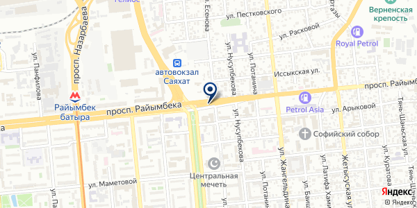 Modvis на карте Алматы