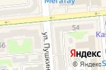 Схема проезда до компании Apteka.com в Алматы