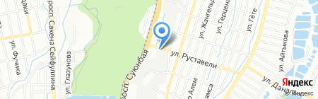 БАТ на карте Алматы