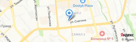 AQUAPORE на карте Алматы