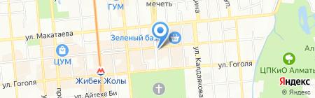 Банкомат Темирбанк на карте Алматы