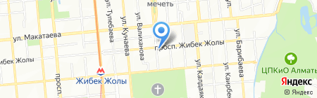 Астра-Ломбард ТОО на карте Алматы