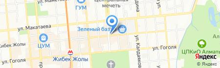 Donna Bella на карте Алматы