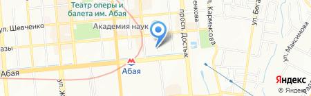 Есфирь на карте Алматы
