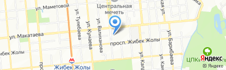 Бутик одежды на карте Алматы