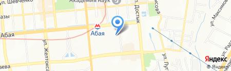 Казахстанско-Японский Инновационный Центр на карте Алматы