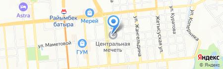 Алматинская Центральная Городская Мечеть на карте Алматы