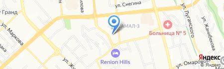 Shakh Travel на карте Алматы