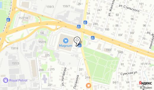 Zolushka. Схема проезда в Алматы
