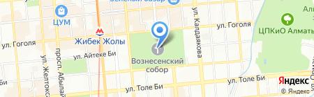 Вознесенский Кафедральный Собор на карте Алматы