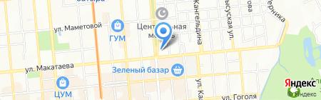 Аэлита-К на карте Алматы