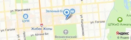 Thomi`s Pastry на карте Алматы