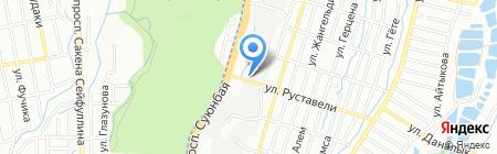 Пчеловод на карте Алматы