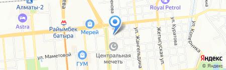Транспроект-К на карте Алматы