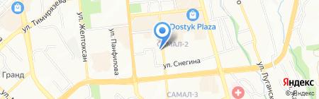 Vip Travel на карте Алматы