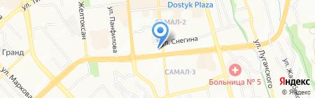 Гримерка на карте Алматы