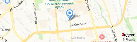 Стиль на карте Алматы