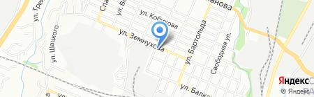 Тамерис на карте Алматы