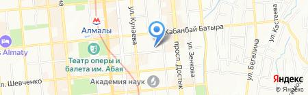 Институт полиязычного образования на карте Алматы