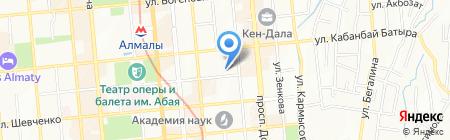 КазНПУ на карте Алматы
