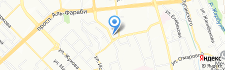 ПетроКазахстан на карте Алматы