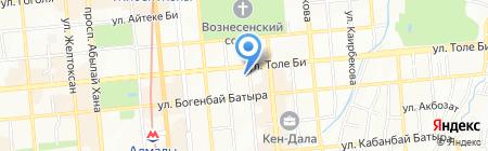 HTC торгово-сервисная компания на карте Алматы