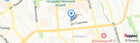 Art Academy на карте Алматы