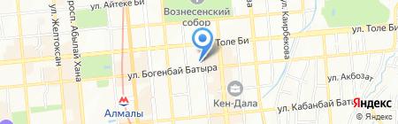 Fashion Nails на карте Алматы