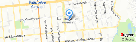 Дильназ на карте Алматы