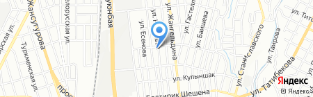 Ilian Clean клининговая компания на карте Алматы