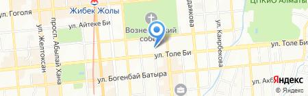 Генеральное консульство Турецкой Республики на карте Алматы