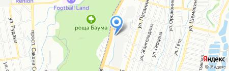 Strong Miller на карте Алматы