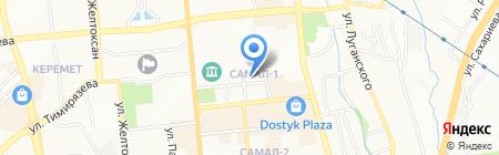 Будьте Здоровы на карте Алматы
