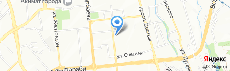 Infinity на карте Алматы
