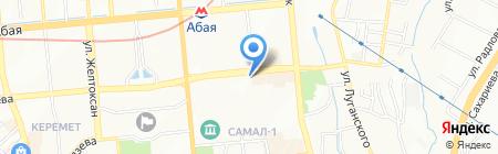Нур Тас Сервис Алматы на карте Алматы