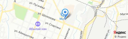 Благотворительный фонд Турксибского района на карте Алматы