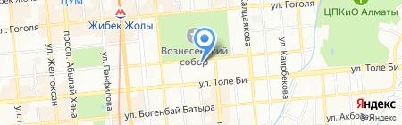 Институт Сорбонна-Казахстан на карте Алматы