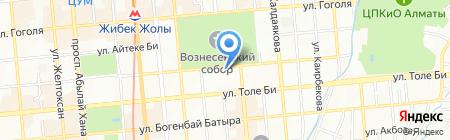 Старые Ворота на карте Алматы