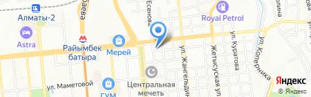 Sinooil на карте Алматы