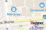 Схема проезда до компании Престиж в Алматы