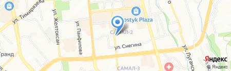 Sense на карте Алматы