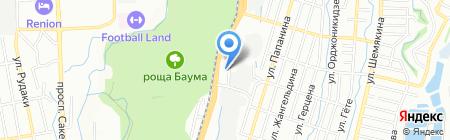 Falcon-auto на карте Алматы